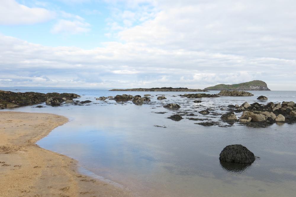 Yellowcraigs Beach East Lothian