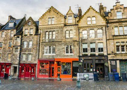 Vintage Shopping in Edinburgh