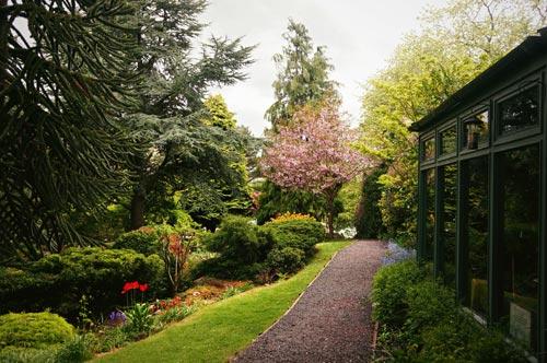 Hidden garden in Duddingston Edinburgh