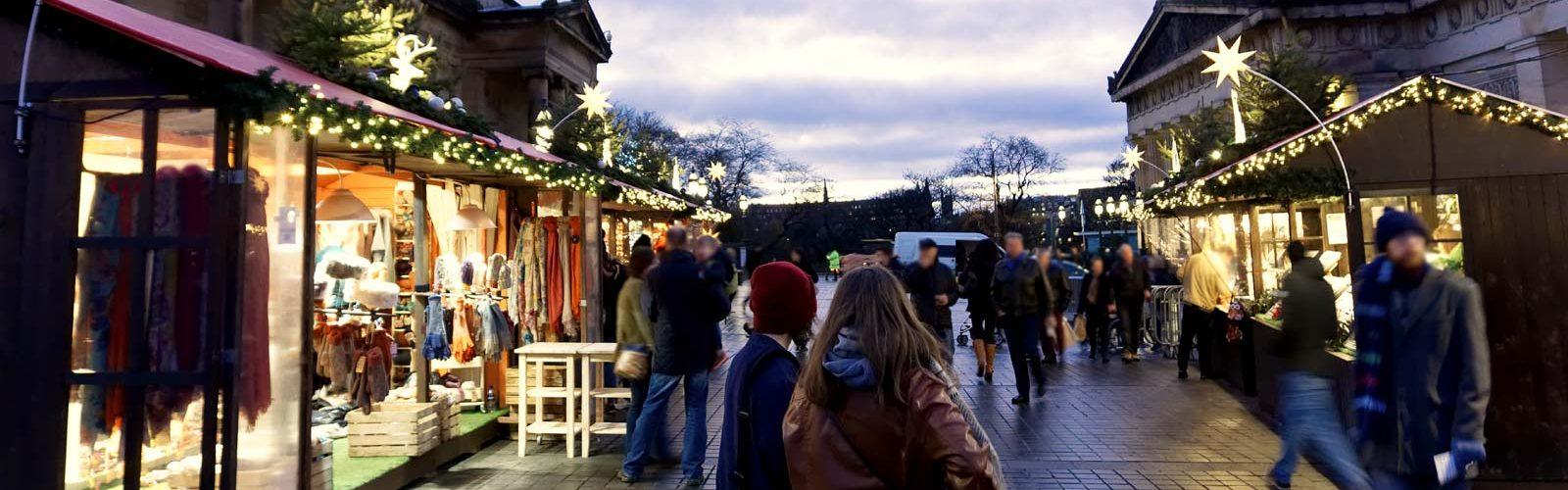 Christmas markets in Edinburgh