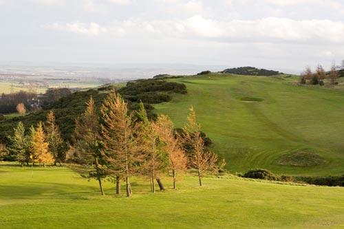 Golf Course in Edinburgh Scotland