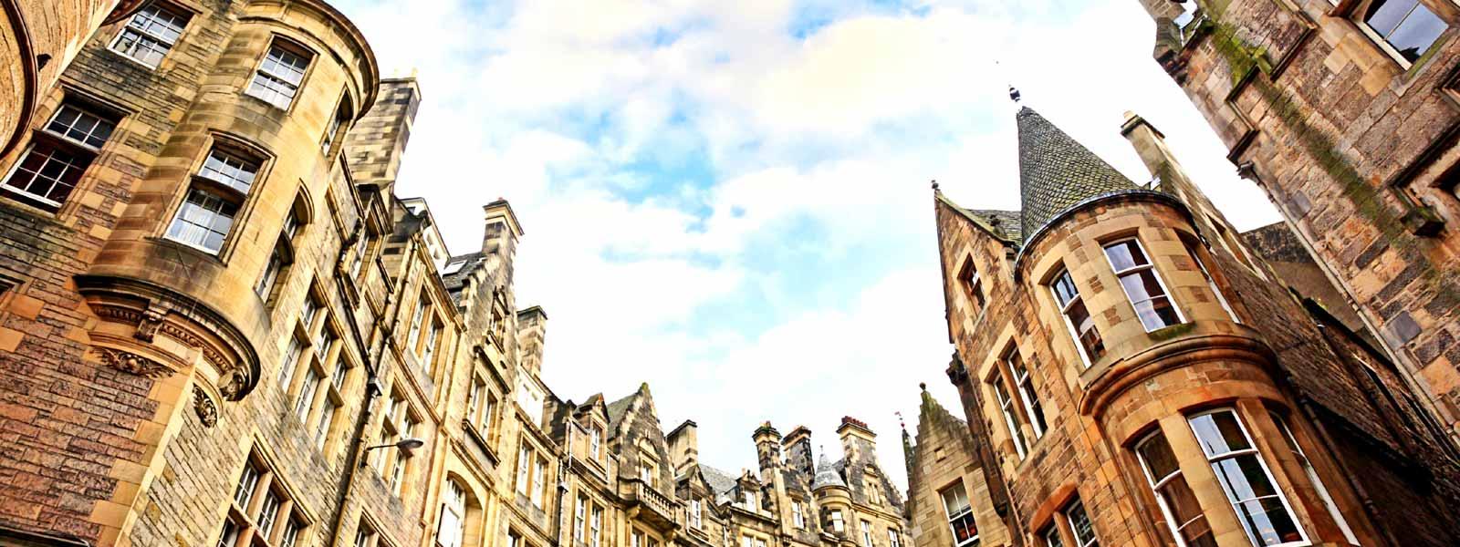 Historic buildings in Edinburgh