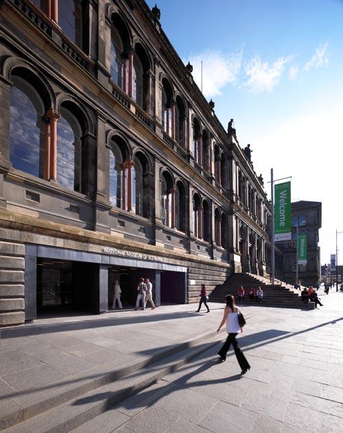 National Museum of Scotland Exterior