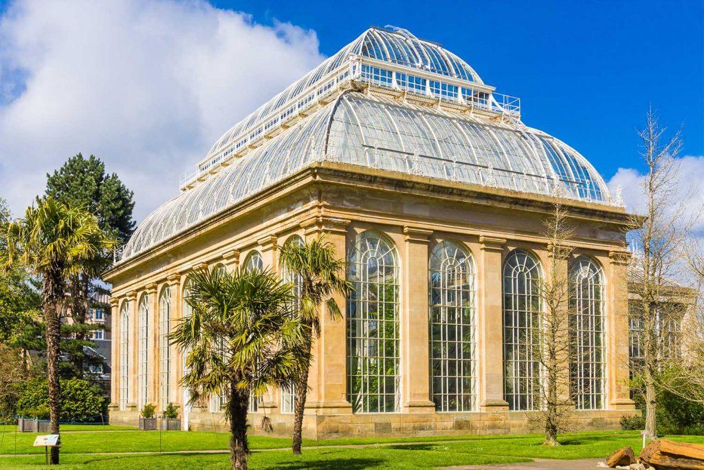 The Edinburgh Botanical Gardens Glasshouse