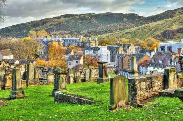 New Calton Burial ground in Edinburgh