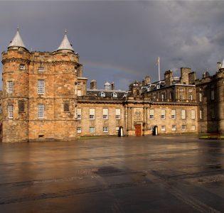 The Palace of Holyrood in Edinburgh