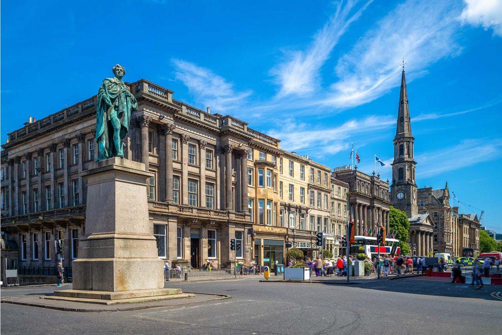 George Square in Edinburgh