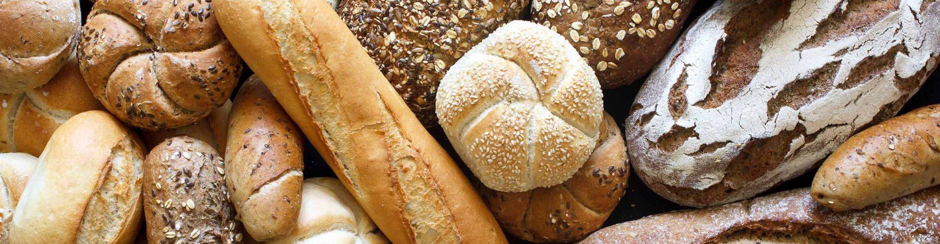 An array of artisan bread