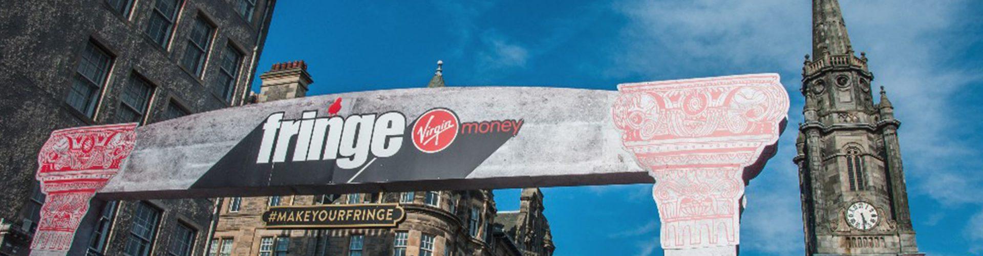 A sign for the Edinburgh Festival Fringe