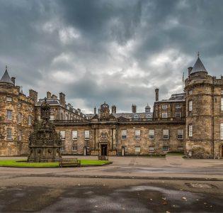 Holyrood Palace in Edinburgh