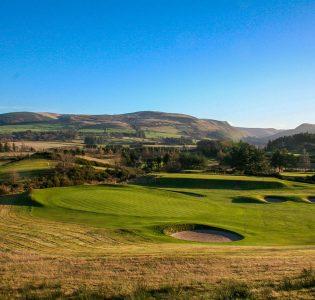 The golf course at Gleneagles in Scotland