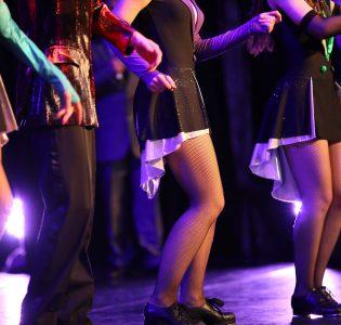 Dancers performing on stage