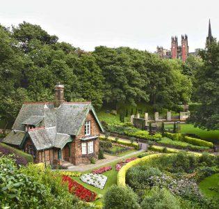Gardener's Cottage in Princes Street Gardens