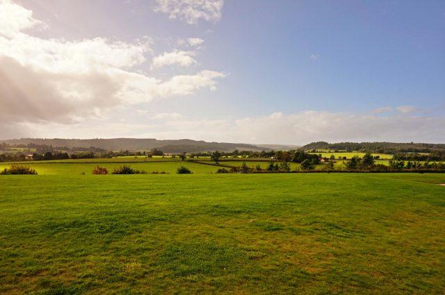 Battlefield where Battle of Bannockburn took place