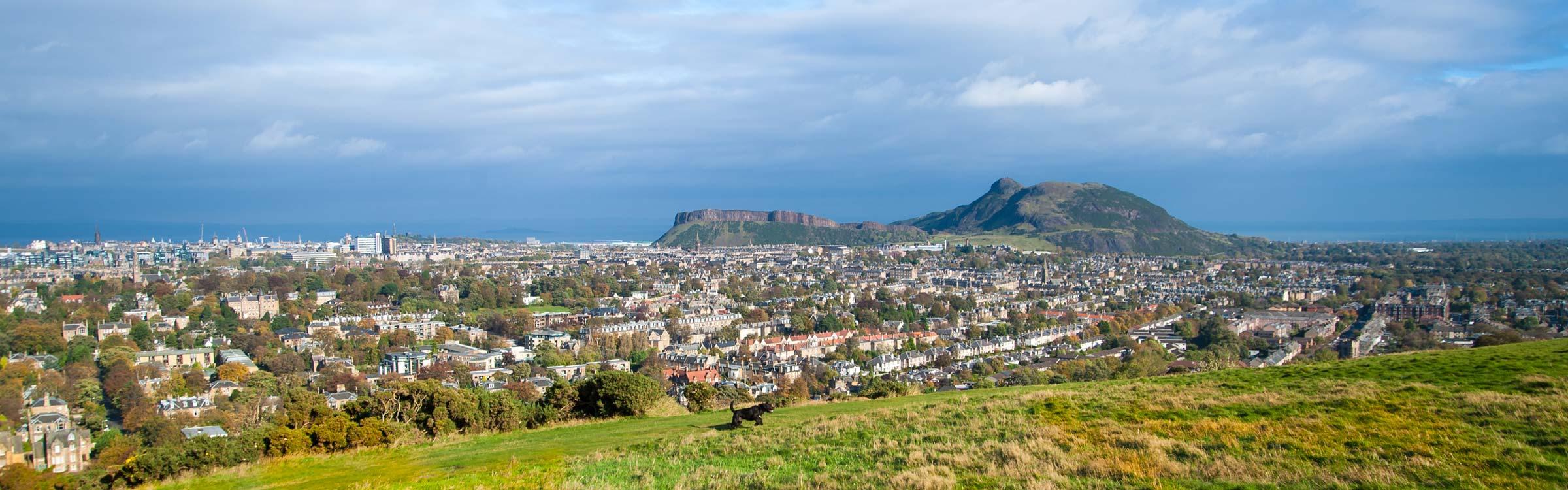 View of Edinburgh from Blackford Hill