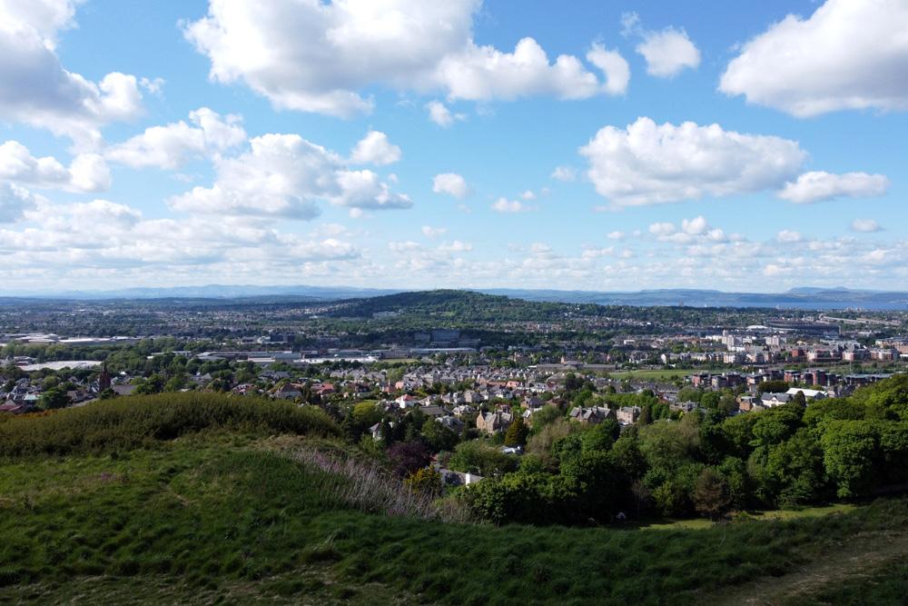 View of Edinburgh from Craiglockhart Hills