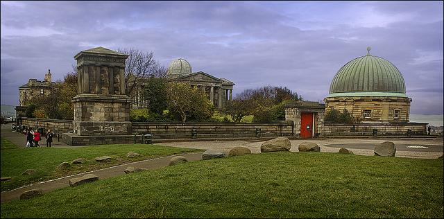 Observatory on Calton Hill in Edinburgh