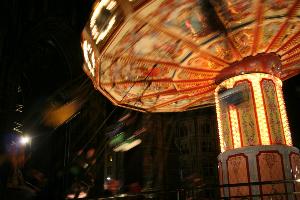 Christmas Carousel in Edinburgh