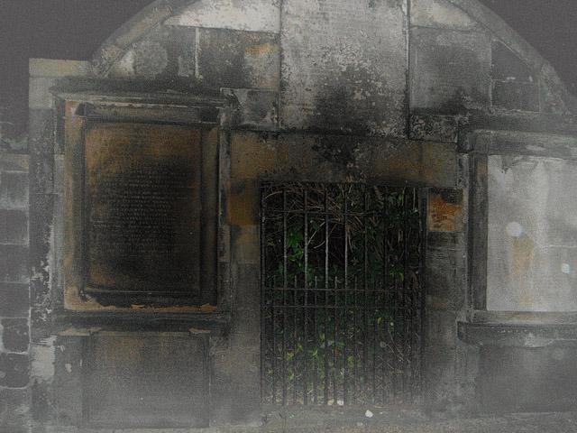 Covenanters Prison in Greyfriars Kirkyard in Edinburgh