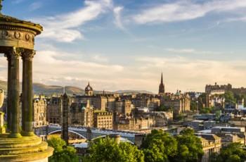 Edinburgh City from Calton Hill