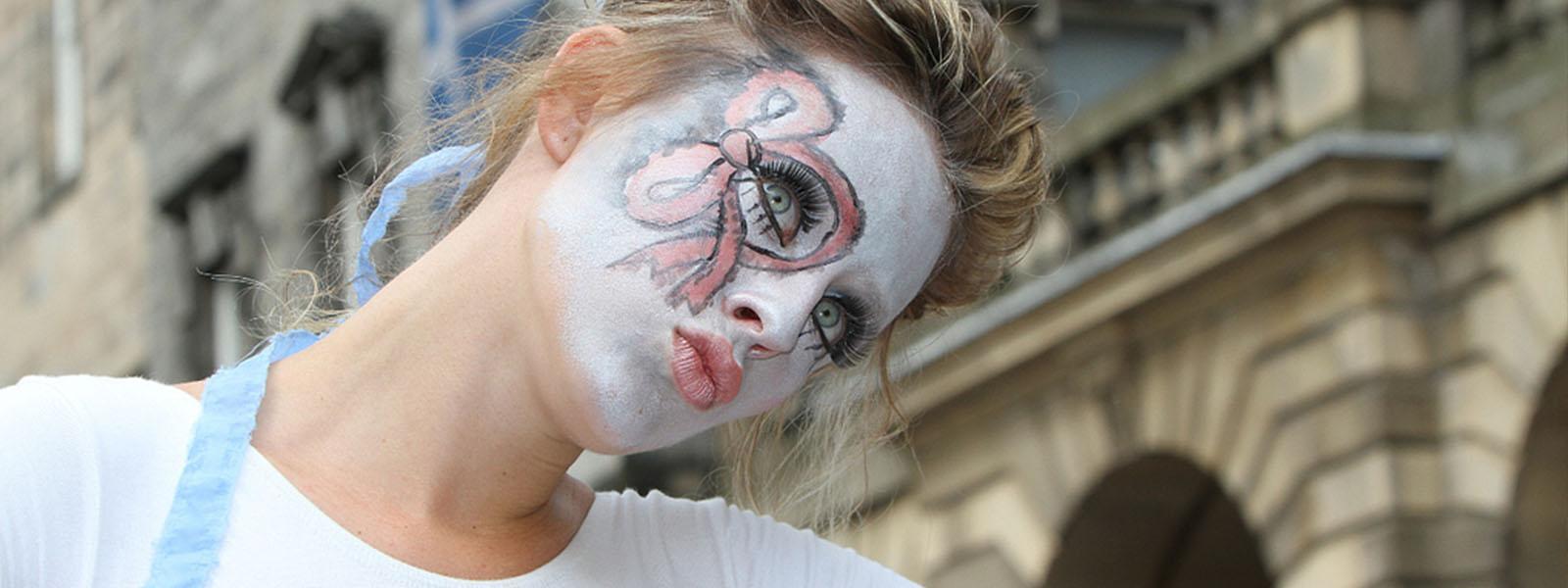 Actress at the Edinburgh Fringe