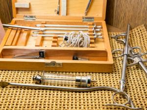 Historical medical equipment