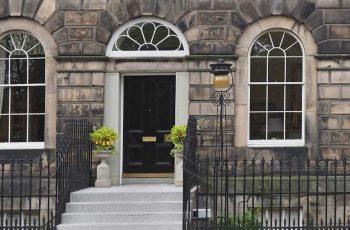 Georgian building in the New Town of Edinburgh