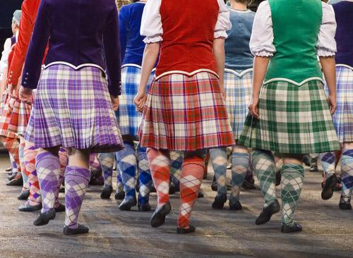 Highland Dancers at the Royal Edinburgh Military Tattoo