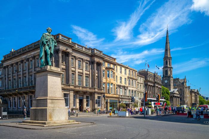 George Street in the New Town of Edinburgh