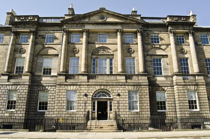 Georgian House museum in Edinburgh New Town