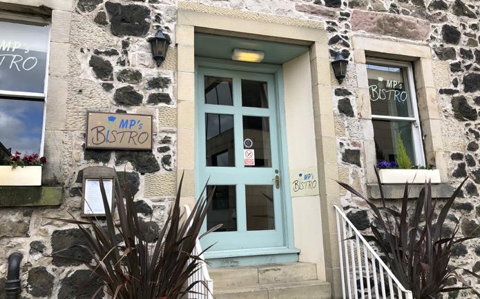 MP's Bistro restaurant entrance