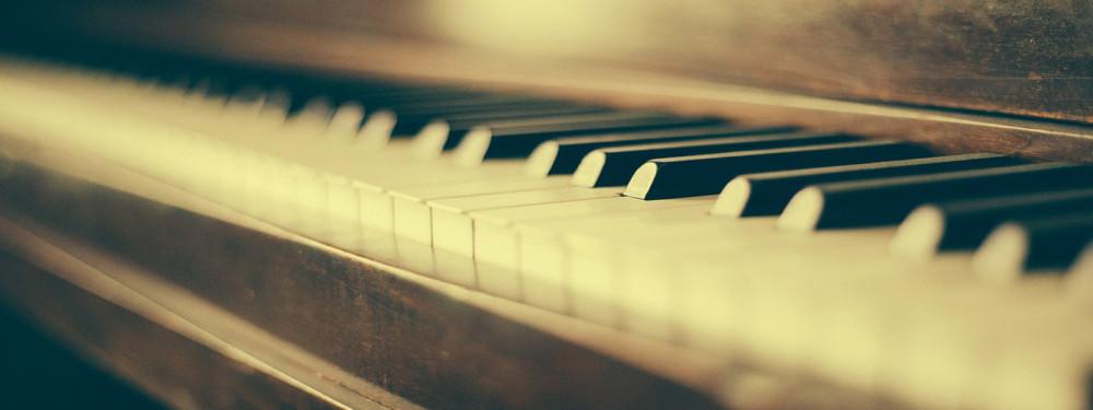 a photo of piano keys