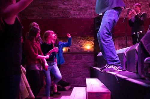 Edinburgh TradFest Opening Night at the Caves